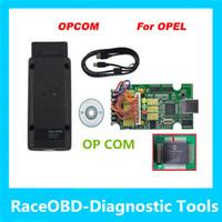 Wholesale Diagnostic Tools Op Com - 2017 newest version opcom op com diagnostic interface obd opcom code reader opel auto diagostic tool super scanner