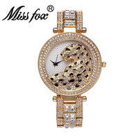 Wholesale Square Drill - New AAA Fashion Classic Original Desigh Cheetah Dial Replicas Watches Crystal Square Drill Stainless Steel Bling Jewelry Watch