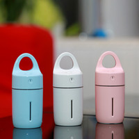 Wholesale Cup Mini Humidifier - Household Humidifier For Mini USB LED Night Light Home Office Magic Cup Anion Aroma Diffuser Colourful Popular 35zg C R