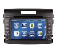 Wholesale Car Dvd Honda Crv - 2-Din Car DVD Player GPS Navigation for Honda CRV CR-V 2012 2013 with Radio Bluetooth USB SD RCA AUX Audio Video Stereo