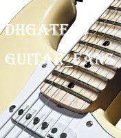 ingrosso grande chitarra elettrica bianca-Custom Vintage Bianco Crema Yngwie Malmsteen smerlato tastiera acero Big Head ST 6 corde chitarra elettrica guitarra Trasporto di Goccia