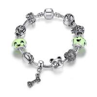 pandora murano verre perles vert achat en gros de-