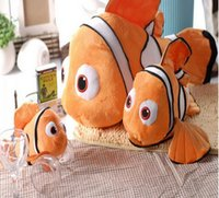 "Wholesale Nemo Fish Plush - Finding Nemo 1pcs 9"" 20cm Movie Cute Clown Fish Stuffed Animal Soft Plush Toy Plush Doll Baby Toy Free Shipping"