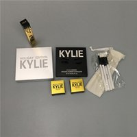 Wholesale Eye Shadow Lip Gloss - 2018 Kylie Cosmetics Jenner Kyshadow eye shadow kylie bag with holiday lip gloss lip purple palette free shipping