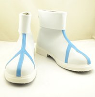 Wholesale Perfect Cherry Blossoms - Wholesale-Perfect Cherry Blossom ADVENT CIRNO Letty Whiterock Cosplay Boots shoes shoe boot #NC349 anime Halloween Christmas