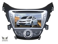 Wholesale Touch Dvd Elantra - 4UI intereface combined in one system CAR DVD PLAYER FOR Elantra Avante I35 2011 2012 2013 Bluetooth GPS NAVI RADIO stereo map