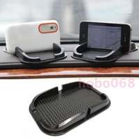 anti-gleit-gummi-pads groihandel-10x / lot Auto Auto mobile Navigationshalterung Anti-Rutsch-Unterlage Matte Aufbewahrungsbox für jedes Modell Auto