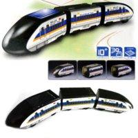 Wholesale Solar Powered Bullet Train - New Educational Solar Powered DIY Bullet Train Kit Good Quality kit train kit h4 bi-xenon