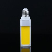 mısır koçanı led ışıklar toptan satış-7 W 9 W 12 W LED Ampuller G24 E27 G23 COB LED Mısır Ampul Lamba Işık COB LED Spot Yatay Fiş Işık Beyaz / Sıcak Beyaz