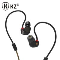 Wholesale Headphone S - Wholesale-New Headphones Original KZ ATE S fone de ouvido HIFI KZ ATE-S Stereo Sport auriculares Super Bass Noise Canceling Headphones
