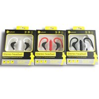 Wholesale Noise Canceling Bluetooth Headsets - BT-1 Stereo Blutooth Sport Headphones Wireless Earphones In Ear Monitor Noise Canceling Handsfree Headset bluetooth wireless headset