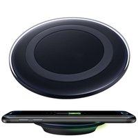 Wholesale Cargador Galaxy - Wholesale-Malloom 2016 Qi Standard Wireless Charger Charging Pad Cargador For Samsung Galaxy S6 S7 Edge NOTE 5 Mobile phone Recommend MA2