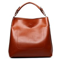 Wholesale Bright Hand Bags - Wholesale-women leather casual shoulder bag bright surface luxury women designer handbags high quality famous brand ladies sac hand bags