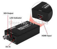 Wholesale Hd Sdi Hdmi Converter - Newest Style 3G SDI to HDMI HD Video Converter 480i 576i 720P 1080P SDI to HDMI Converter 3G-SDI Adaptor #001