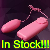 Wholesale Dhl Free Shipping Sex Toys - Pink Jump Eggs Remote Control Vibrator Bullet Clitoral G Spot Stimulators Adult Sex Toys for Women with Opp Bag US DHL Free Shipping