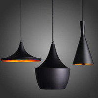 CE black dining room set - New Thick Aluminum Beat Musical Instrument Hanging Pendant Light Restaurant Bar Living Room Bedroom Lighting ABC Sets Free EMS