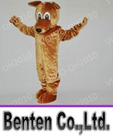 Wholesale Christmas Party Outfit Characters - VO18 Professional Customized Dingo Cartoon Mascot Costume Costumes Halloween Christmas Birthday Party Dress Character Outfit Fancy Dress