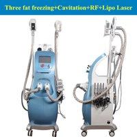 Wholesale Ultrasonic Cellulite Reduction Cavitation - Freezing Slimming Machine for Fat   Cellulite Reduction ultrasonic cavitation rf machine portable rf cavitation system user manual