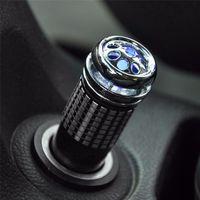 Wholesale mini car auto fresh air online - V Mini Auto Car Fresh Air Ionic Purifier Oxygen Bar Ozone Ionizer Cleaner DHL free