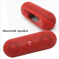 Wholesale new speakers pill for sale - Group buy NEW XL Speaker Bluetooth Speaker Pill Speaker XL with Retail Box Black White Pink Red Blue Colorfor tablet PSP iphone6 S6 HTC phone MPDHL