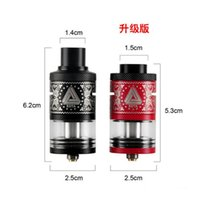 E cig vaporizar iJOY Limitless RDTA Plus Tanque 6.3ml Capacidade Enorme 25mm Double Deck Rebuildable Dripping Tanque Atomizer Limitless RDA RTDA Plus