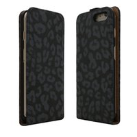 Wholesale iphone flip leopard for sale - For iphone X Leopard Print Up and Down Open Leather Flip PU Case for Samsung S8 S7 S7 Edge Note J7