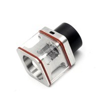 Wholesale Transformer Vaporizer - Vaporizer Transformers Atomizer 316 Stainless Steel Square Glass Tube Transformer RTA RTDA fit 510 E Cigarette DHL Free