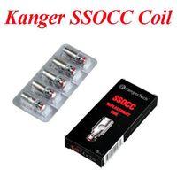 aspire ce5 et s bdc großhandel-Kangertech SSOCC Vertikale OCC Spulen 0,15 / 0,5 / 1,2 / 1,5 ohm Spule Für Kanger Subtank Mini V2 Zerstäuber DHL freies verschiffen