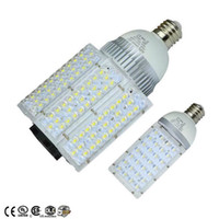 Wholesale Dc Powered Light Bulbs - DC 12V 24V E27 E40 Led Street Bulb Lights Road Lamp 30W 40W 60W 80W 100W Waterproof Led Lights AC 85-265V