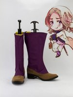 Wholesale Hetalia France Cosplay - Wholesale-Freeshipping Axis Powers Hetalia France Francis Bonnefoy Cosplay Boots shoes #541 hand made custom-made for Halloween Christmas
