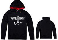 londra boy hoodies toptan satış-2018 Gelgit Marka Eagles Boy Londra Hoodies Fishion Sokak Baskılı Eagles Kalın Pamuk Boy Londra Kazak Marka Hoodies Ceket