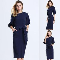 Wholesale Cheap Buttons For Clothing - Dress Summer 2016 Europe Station Chiffon In Skirt European Suit-dress Bodycon Cheap Dresses Woman For Womens Clothing Ladies