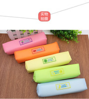 Wholesale chrismas bags resale online - 2016 hotsales fresh style pencil bag multi function small fruits zipper for kids chrismas gift