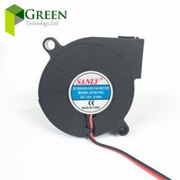 Wholesale Industrial Humidifiers - SANLY SF5015SL SF5015SM DC 12V 0.06A for humidifier fan 5cm 5015 50x50x15mm industrial blower 2PIN