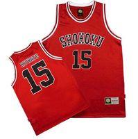 TV   Movie Costumes Men default uniform school shirts Shohoku School Team  Jersey Tops Shirt 1 5cc5587b6