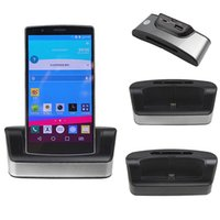 Wholesale G4 Batteries - For LG G4 Charger Dock Dual Sync Phone Battery Charger Cradle Dock Station Stand + OTG + USB Cable For LG G4