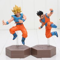 Dragon Ball Z Action figure Super Saiyan figlio Goku Gohan Vegeta Gotenks 14-17cm DXF Anime Dragonball Kai figure modello giocattoli