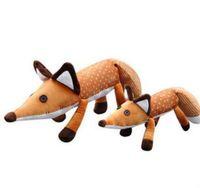 videos de animales gratis al por mayor-El Pequeño Príncipe Le Petit Prince Peluche Juguete Fox Animales Muñecas Suave 40cm Regalo Christams para niños Dibujos animados Fox Juguetes envío gratis