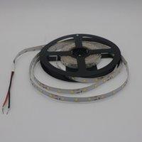 mavi ışık bandı toptan satış-Edison2011 5 M 2835 SMD LED Şerit Işık DC 12 V 60 Leds / M Kapalı Dekoratif Bant Beyaz Mavi Kırmızı Mavi Sarı