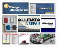 Automobilsoftware alldata Selbstreparatur-Software v10.53 + mitchell ondemand + elsawin + moto schwere LKW-Diagnosesoftware 1tb hdd