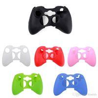 xbox shell оптовых-для Xbox 360 контроллер Мягкий силиконовый гибкий гель резиновый корпус протектор кожи оболочки
