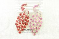 Wholesale 2016 new Spike pink peacock alloy accessories DIY beauty stickers diamond material package DIY accessories Arts and Crafts