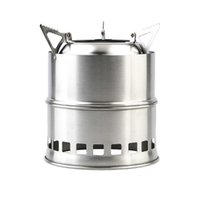 Wholesale Portable Stainless Steel Camping Stove Lightweight BBQ Picnic Stove