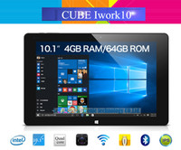 Al por mayor-Cubo original iwork10 último Windows 10 + Android 5.1 Tablet PC 10.1 '' IPS 1920x1200 Intel Atom Z8300-X5 Quad Core 4 GB / 64 GB HDMI