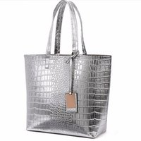 spanish beach - Luxury Spanish Brand Women Beach Crossbody Crocodile Designer Handbag High Quality Sac a Main Bolsos Casual Tote Shoulder Bags