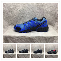 Wholesale Zapatillas Free Run - Hot Sell 2018 New Zapatillas Speedcross 4 Shoes Outdoor Mens Walking Shoes Hiking Sneakers Athletic Running Shoes Size 40-46 Free Shipping