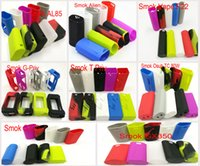 Wholesale Soft Sleeve Case - Smok Alien 220W Silicon Case Skin Soft Silicone Sleeve Protective Cover Skin For AL85 G-Priv T-Priv GX350 G30 Pen22 Osub TC 80W Vaporizer