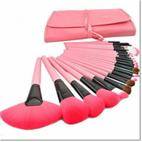 24 oval setting - 24pcs a kit Professional Soft beauty Toothbrush Makeup Brush Sets Foundation Brushes Cream Contour Powder Blush Lip Concealer Oval Brushes
