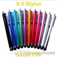 FedEx Shipping Stylus all'ingrosso 9.0 per iPhone 3GS iPhone4 iPad 2 HTC HD2 Pen touch screen capacitivo Samsung RJ1527 0416dd