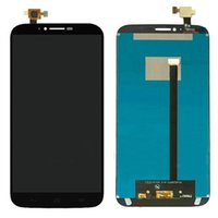 Wholesale Alcatel Hero - 100% Original Black For Alcatel One Touch Hero 2 8030 OT-8030B 8030Y LCD Display+Touch Screen Digitizer Assembly Replacement Free Shipping